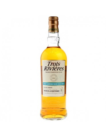 TROIS RIVIERES Agricole Ambre, Martinica, 0.7L, 40% ABV