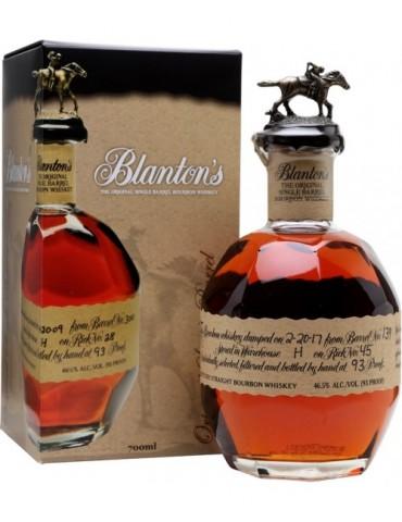 BLANTON Original, S.U.A, 0.7L, 46.5% ABV
