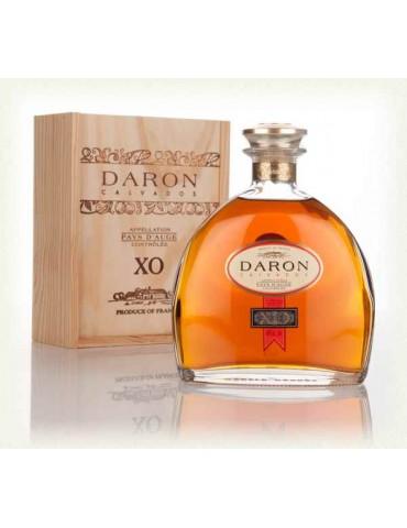 DARON Calvados, XO, Franta, 0.7L, 40% ABV, Cutie Lemn