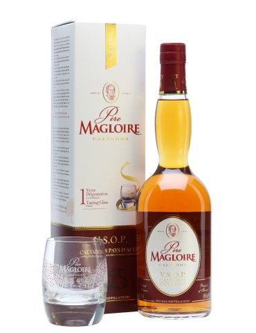 PERE MAGLOIRE Calvados, VSOP, Franta, 0.7L, 40% ABV, Pahar