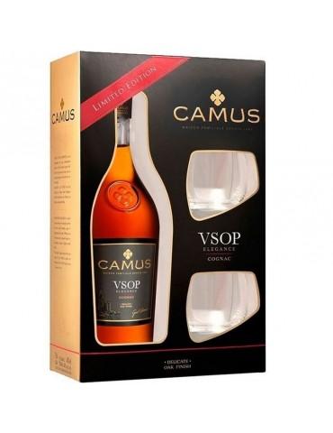 CAMUS Elegance Glass, VSOP, Blended, 0.7L, 40% ABV