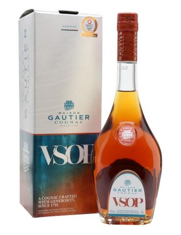 GAUTIER Cognac, VSOP, Blended, 0.7L, 40% ABV