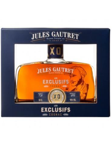 JULES GAUTRET Les Exclusifs, XO, Blended, 0.5L, 40% ABV