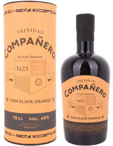 COMPANERO Elixir Orange, Trinidad, 0.7L, 40% ABV