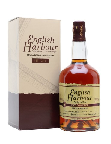 ENGLISH HARBOUR Port Cask, Antigua, 0.7L, 46% ABV