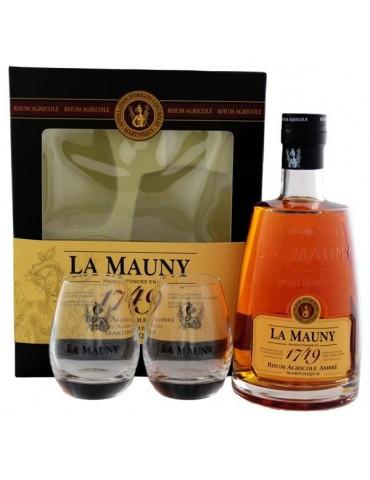 LA MAUNY Agricole Ambre, Pahare, Martinica, 0.7L, 40% ABV