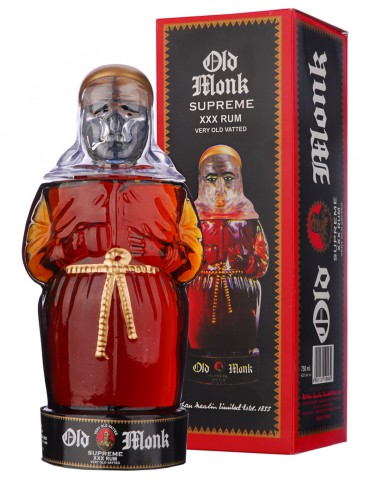 OLD MONK Supreme XXX, India, 0.75L, 42.8% ABV