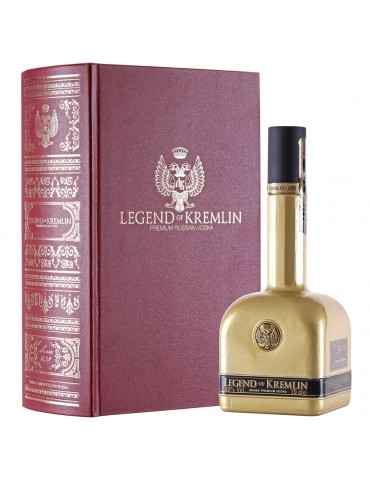 LEGEND OF KREMLIN Gold, Red Book, Rusia, 0.7L, 40% ABV