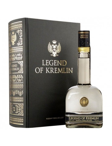 LEGEND OF KREMLIN, Book, Rusia, 0.7L, 40% ABV