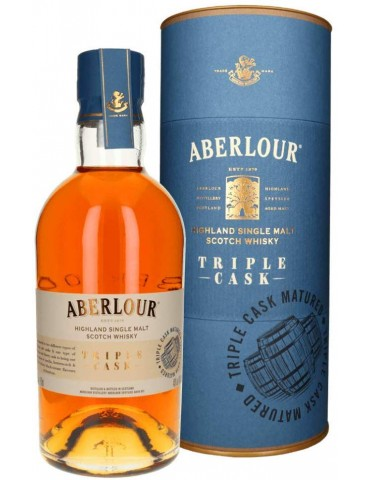ABERLOUR Triple Cask, Single Malt, Scotia, 0.7L, 40% ABV