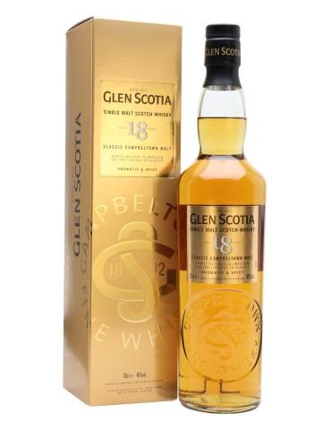 GLEN Scotia 18 ANI, Single Malt, Scotia, 0.7L, 46% ABV