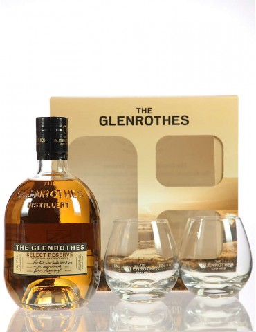 GLENROTHES Select Reserve, Pahare, Single Malt, Scotia, 0.7L, 43% ABV