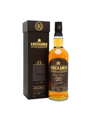 KNOCKANDO 21YO, Single Malt, Scotia, 0.7L, 43% ABV