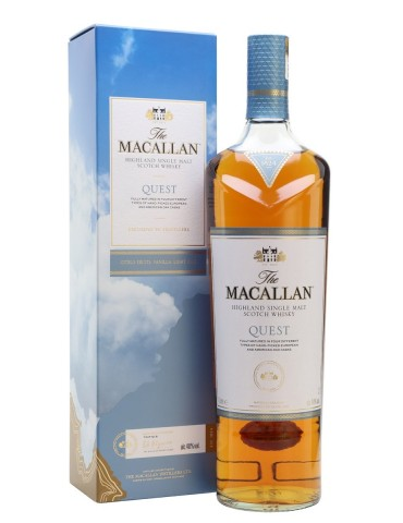 MACALLAN Quest, Single Malt, Scotia, 1L, 40% ABV