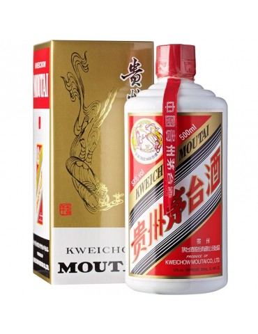 MOUTAI KWEICHOW, Blended, China, 0.5L, 53% ABV