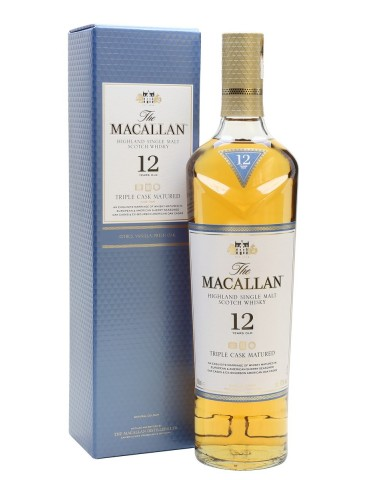 MACALLAN Triple Cask, Single Malt, Scotia, 0.7L, 40% ABV