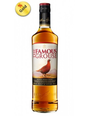 FAMOUS GROUSE Whisky, Blended, Scotia, 0.7L, 40% ABV