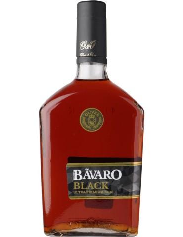 BAVARO Black Ultra Premium, Rep. Dominicana, 0.7L, 38% ABV