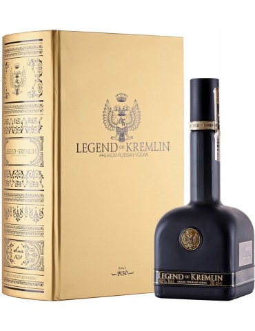 LEGEND OF KREMLIN Gold Book, Rusia, 0.7L, 40% ABV