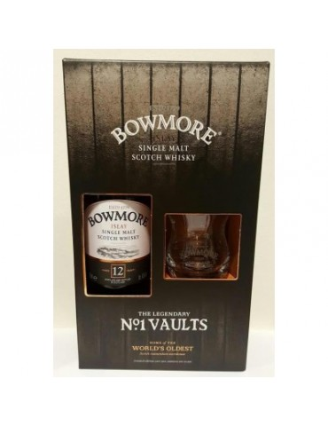 BOWMORE 12YO Vaults Set, Single Malt, Scotia, 0.7L, 40% ABV