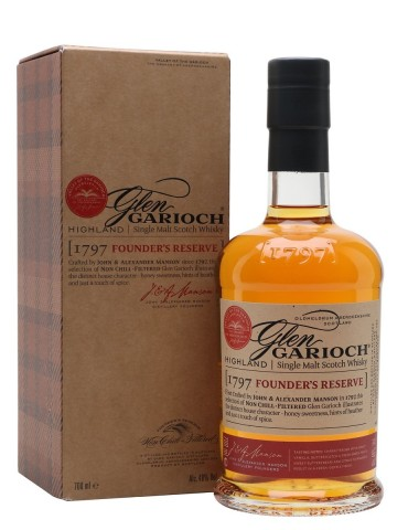 GLEN GARIOCH Founder`s Reserve, Single Malt, Scotia, 0.7L, 48% ABV