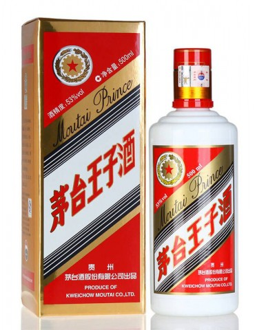 MOUTAI Prince, Blended, China, 0.5L, 53% ABV