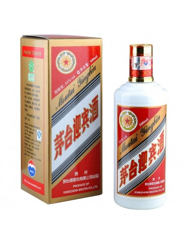 MOUTAI Yingbin, Blended, China, 0.5L, 53% ABV