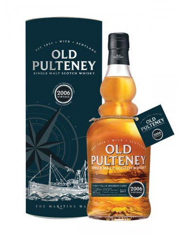 OLD PULTENEY Vintage 2006, Single Malt, Scotia, 1L, 46% ABV