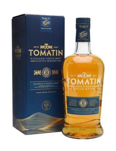 TOMATIN 8YO, Single Malt, Scotia, 1L, 40% ABV