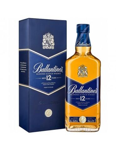 BALLANTINE`S 12YO Gift Box, Blended, Scotia, 0.7L, 40% ABV
