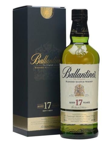 BALLANTINE`S 17YO Gift Box, Blended, Scotia, 0.7L, 40% ABV
