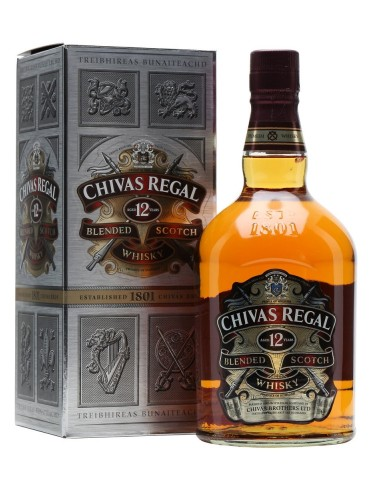 CHIVAS REGAL 12YO Gift Box, Blended, Scotia, 1L, 40% ABV