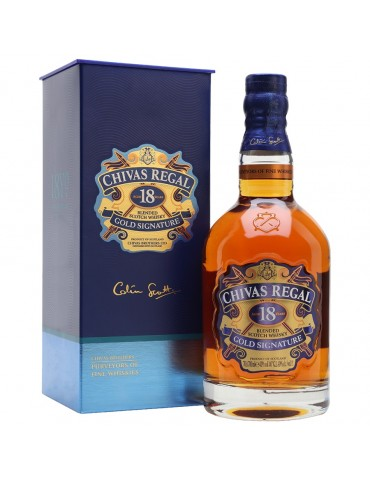 CHIVAS REGAL 18YO Gift Box, Blended, Scotia, 0.7L, 40% ABV