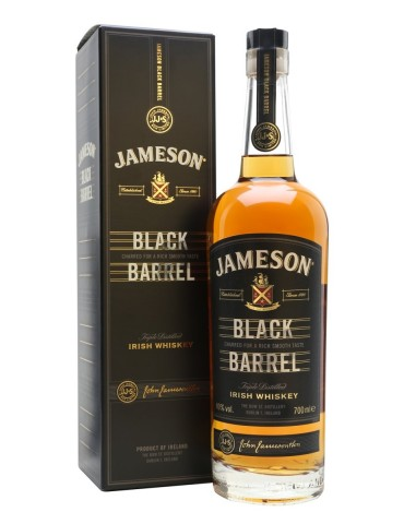 JAMESON Black Barrel Gift Box, Irish Whisky, Irlanda, 0.7L, 40% ABV