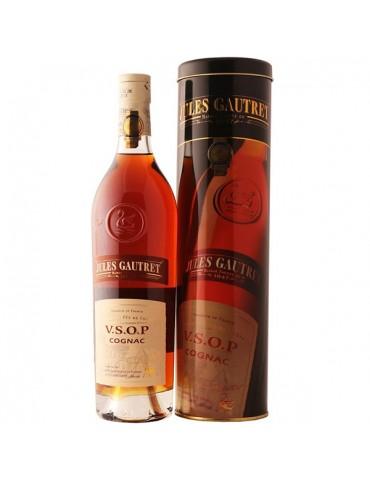 JULES GAUTRET Cognac, VSOP, Blended, 0.7L, 40% ABV