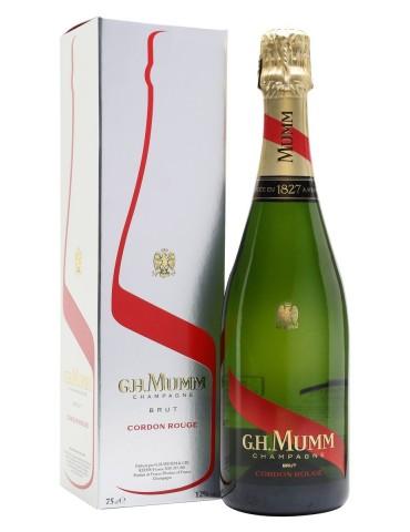 G.H. MUMM Cordon Rouge Brut Gift Box, Franta, 0.75L, 12% ABV