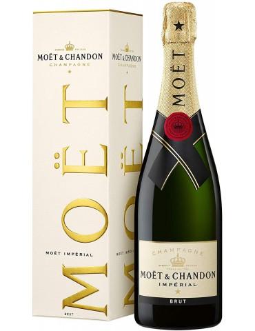 MOET & CHANDON Brut Imperial Gift Box, Franta, 0.75L, 12% ABV