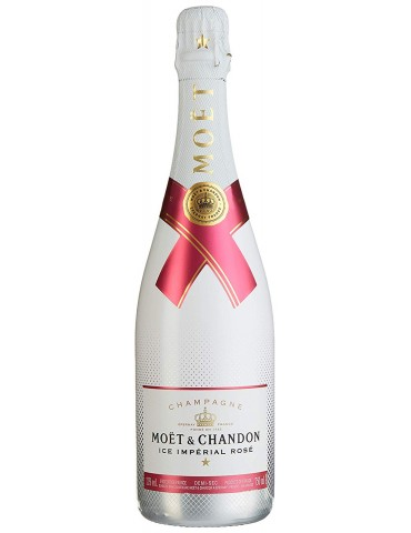 MOET & CHANDON Ice Imperial Rose, Franta, 0.75L, 12% ABV