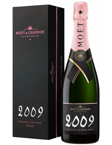 MOET & CHANDON Rose Vintage 2009 Gift Box, Franta, 0.75L, 12.5% ABV