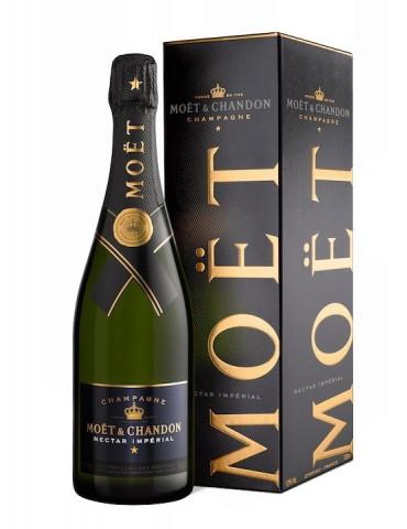MOET & CHANDON Nectar Imperial Demi-Sec Gift Box, Franta, 0.75L, 12% ABV