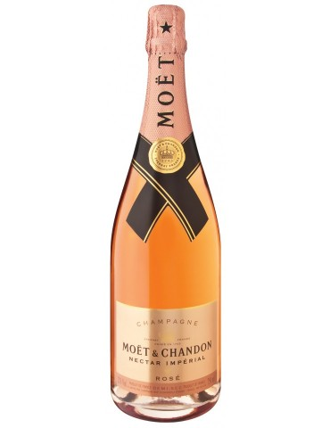 MOET & CHANDON Nectar Imperial Rose, Franta, 0.75L, 12% ABV