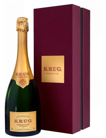 KRUG Grande Cuvee Brut Gift Box, Franta, 0.75L, 12% ABV
