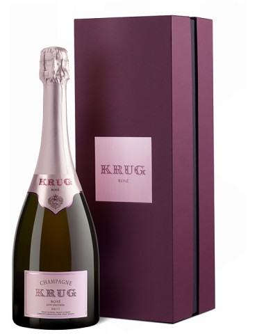 KRUG Rose Brut Gift Box, Franta, 0.75L, 12.5% ABV