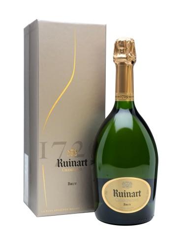 RUINART R de Ruinart Brut Gift Box, Franta, 0.75L, 12% ABV