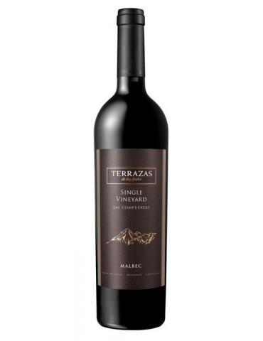 Terrazas de los Andes Single Vineyard Malbec, Argentina, Rosu, Sec, 0.75L, 14.5% ABV