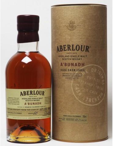 ABERLOUR A`bunadh, Single Malt, Scotia, 0.7L, 60.3% ABV