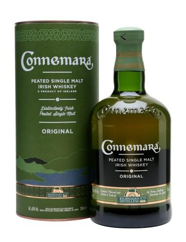 CONNEMARA Peated, Single Malt, Irlanda, 0.7L, 40% ABV