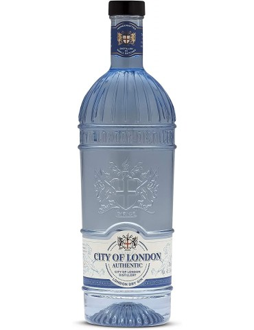 CITY OF LONDON Dry Gin, Anglia, 0.7L, 41.3% ABV