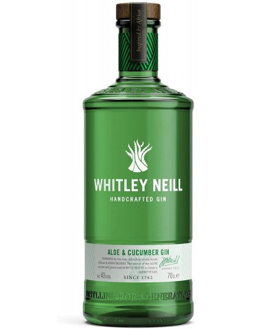 WHITLEY NEILL Aloe & Cucumber, Anglia, 0.7L, 43% ABV