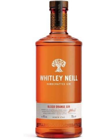 WHITLEY NEILL Blood Orange, Anglia, 0.7L, 43% ABV